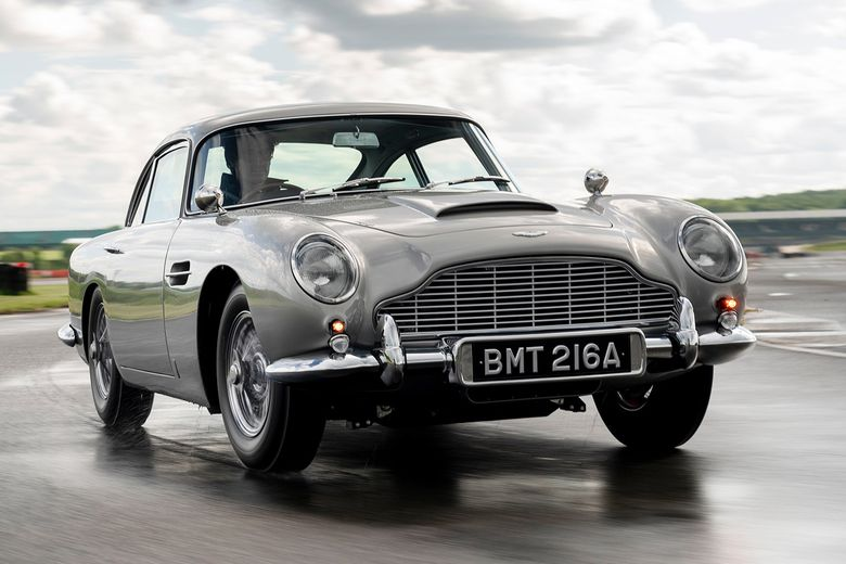 The first Aston Martin DB5 Goldfinger Continuation is complete