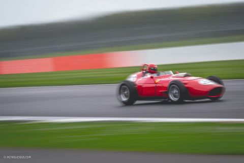 The First-Ever V6 In Grand Prix Competition Was Under The Hood Of Ferrari's 246 F1 'Dino'