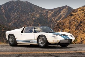 The First Ford GT40 Roadster Prototype Is A Different Take On The 'American' Drop-Top