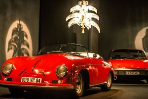 The Light Fantastic: This Unique Exhibit Pairs Porsches With Stunning Chandeliers