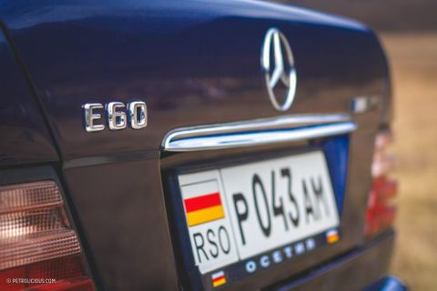 The Mercedes-Benz E60 AMG Is Still A Super Exclusive Super Sedan