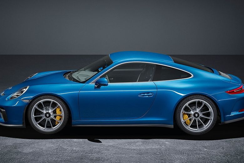 The Porsche 911 GT3 goes undercover with the new Touring package