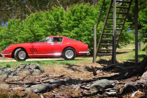 The Pur Sang Rally Pits Historic Sports Cars Against Australia