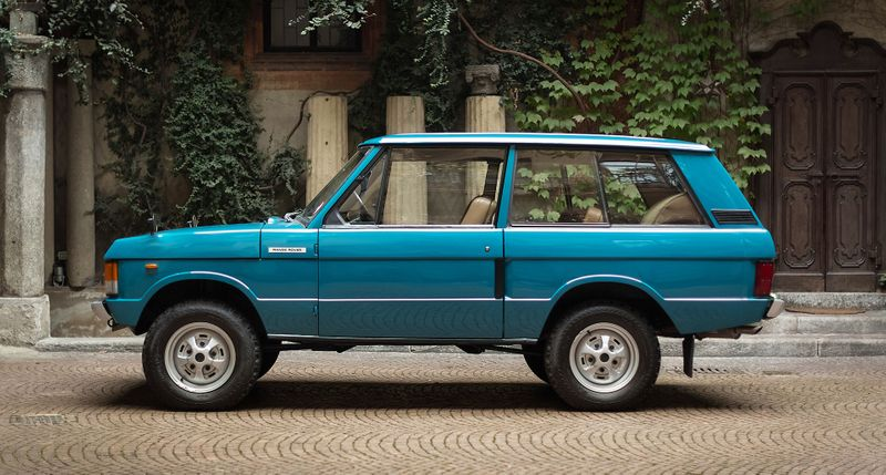 The Range Rover by Larusmiani is a Renaissance work of art