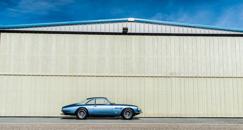 The sky was the limit for the Ferrari 500 Superfast