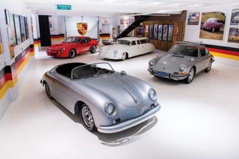 The Taj Ma Garaj Collection of Highly Eclectic VWs and Porsches Is Going Up For Auction