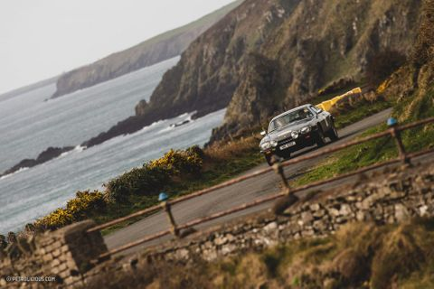 The Three Legs of Mann Rally Pits Vintage Sports Compacts Against The Infamous Isle Of Man