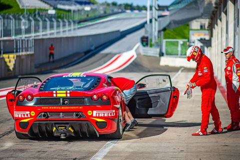 These 40 Ferrari racing cars rocked the Red Bull Ring to its core