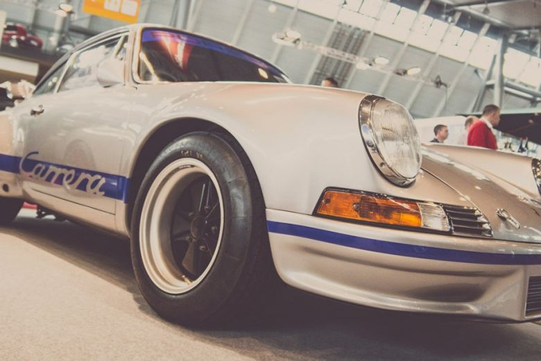 These collector cars can all be bought at Retro Classics 2016