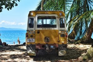 These Series Land Rovers Are Taking It Slow By The Costa Rican Seaside