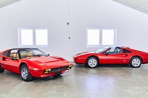These two 1980s Ferraris really are as good as new