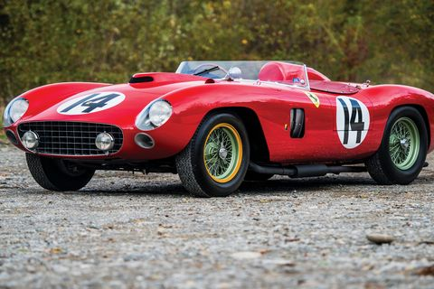 These were the 10 highest auction prices paid for collector cars in 2018