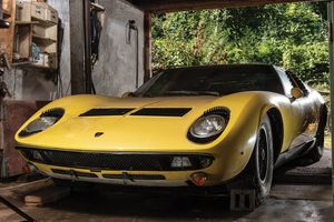 This 'barn-find' Lamborghini Miura is craving your tender loving care