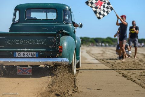 This Beach Race Is Italy's Take On A Hot-Rod Hangout On The Beach