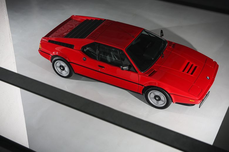 This BMW M1 has gathered dust in an Italian garage since 1982