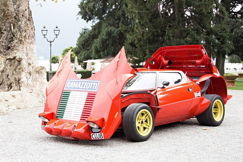 This Ex-Jolly Club Group 4 Lancia Stratos Lives On Lake Como
