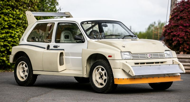 This Group B MG Metro 6R4 has just seven miles on the clock