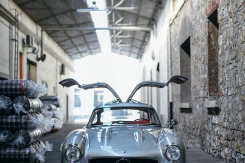 This Gullwing Has Always Been Destined For The Mille Miglia