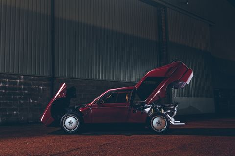 This infernal Lancia Delta S4 Stradale will haunt your dreams