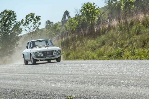This Lancia Fulvia Is An Italian Classic Living In The African Dust