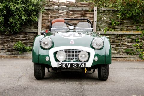 This Le Mans Triumph TR2 Has Sold For A World-Record Price At Silverstone Auctions