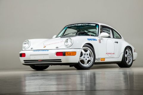 This Porsche 964 Carrera Cup Is The Rarest Of The Rare And One Of The Finest Examples In Existence