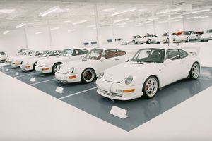 This Porsche collection will have you dreaming of a white Christmas