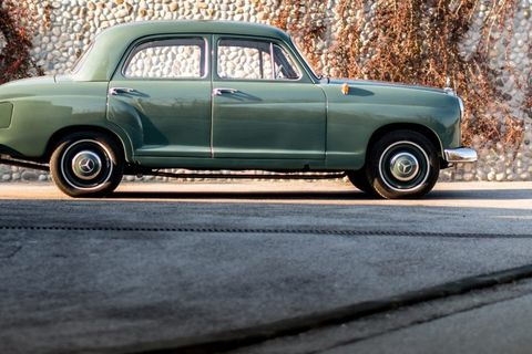 This Prized Ponton Mercedes Has Already Spent 58 Years With The Same Family
