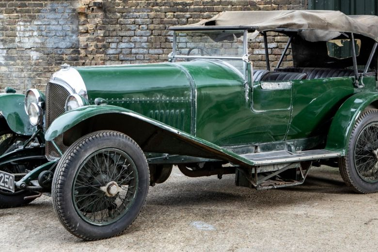 This Remarkable 1926 Bentley Spent 60 Years Untouched In Dry Storage And Is Now Set To Be Sold At Auction