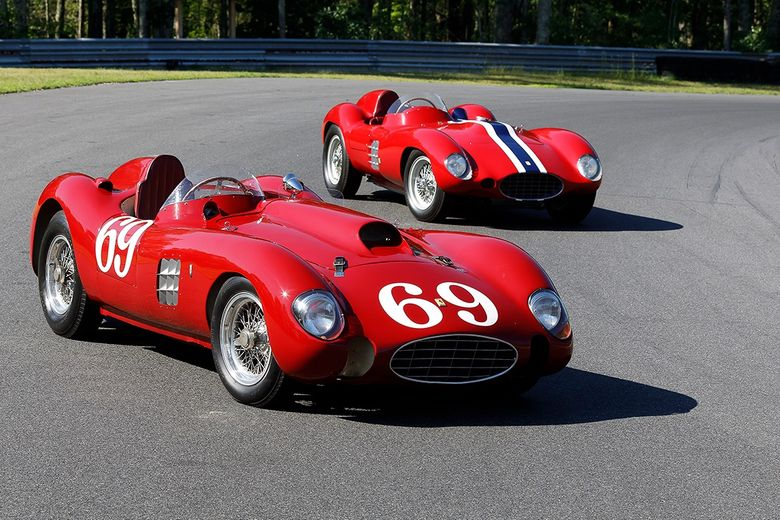 This significant pair of 1950s Ferrari racers has just hit the market