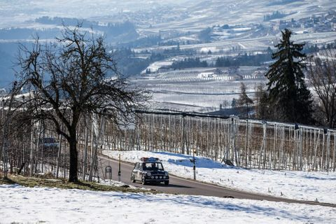 This Vintage Rally Has Run Through The Snow-Covered Peaks Of Northern Italy For 30 Years