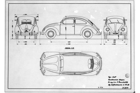This VW 39 Prototype Is Actually A Porsche And Shares The Same Engine As The Controversial Type 64