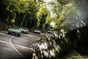 Time travelling through Italy with 21 Lamborghini Espadas and Isleros