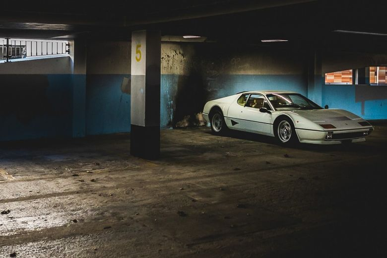 Too Cool For Cocaine Jokes: What It's Like To Drive A White Ferrari BB 512i