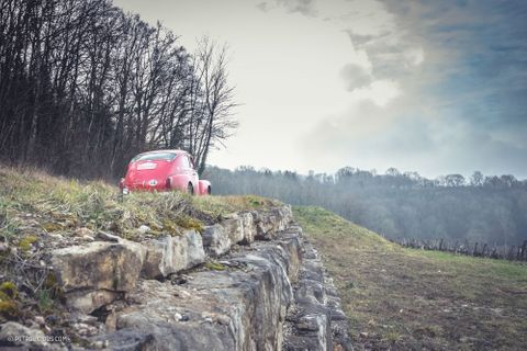 Tracking Classics Across France And Into The Alps For The Winter Challenge Rally