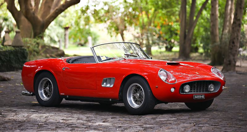 $17.16m Ferrari California Spider leads 2016 Amelia Island sales