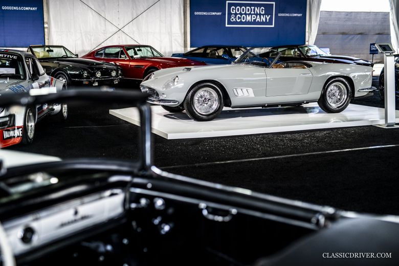 $9.9m Ferrari California Spider leads Gooding & Co's Pebble Beach sale