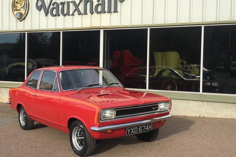 Vauxhall to show restored Viva GT at Classic Motor Show