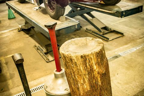 Visit A French Workshop Where Bodywork Is Still Formed By Hand And Hammer