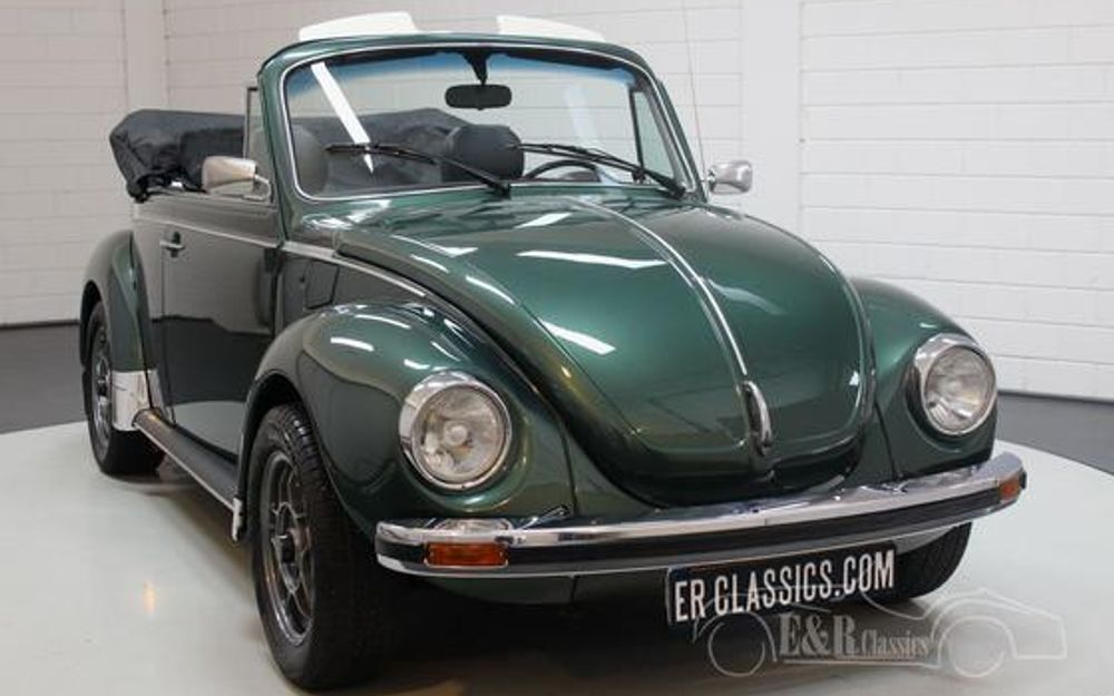 volkswagen coccinelle 1303 ls cabriolet 1975 voiture de collection vendre. Black Bedroom Furniture Sets. Home Design Ideas