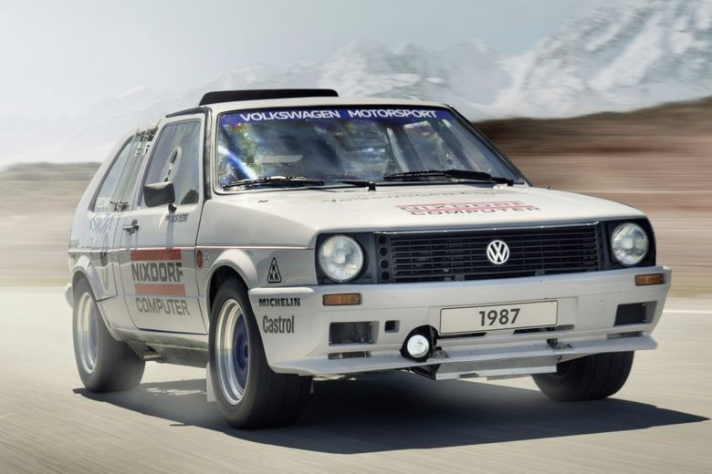 Volkswagen Is Taking The Legendary Twin-Engined Golf To An Austrian Ice Race