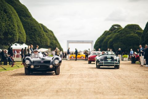 Walking the automotive hall of fame at Concours of Elegance 2019