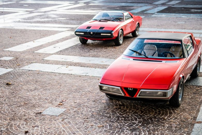 We bet you haven't seen these two Alfa Romeo prototypes before