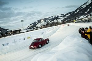 We Can't Get Enough Of Porsches On The Ice. Even The New 911 Is There (And A 356)
