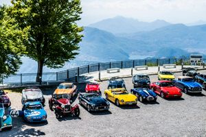Who had the head start on the 2019 Concorso d'Eleganza Villa d'Este tour?