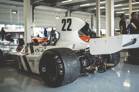 Witness 1,000 historic racing cars splitting the silence at Silverstone
