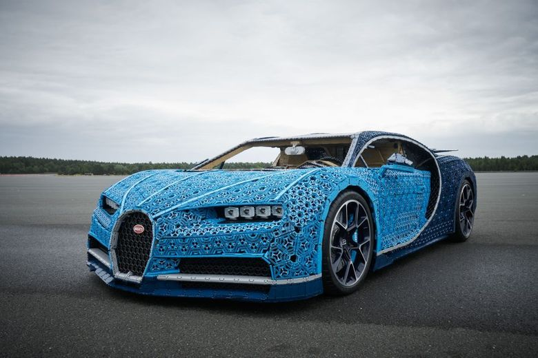 Would You Drive This Functional LEGO Bugatti?