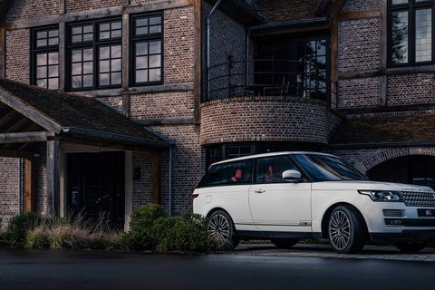 You aren't seeing things – this really is a modern Range Rover coupé