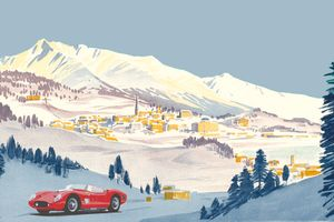You shouldn't miss this icy Concours of Elegance in St. Moritz